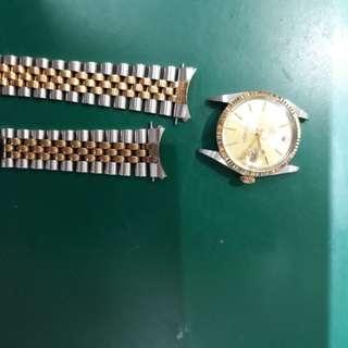 Rplex watch polishing