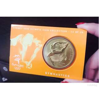 🎉Sydney 2000 Olympic Coin Collection - 13 of 28 Gymnastics