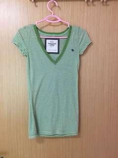 Abercrombie Stripes T-shirt for Ladies