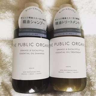 the public organic Shampoo And Treatment
