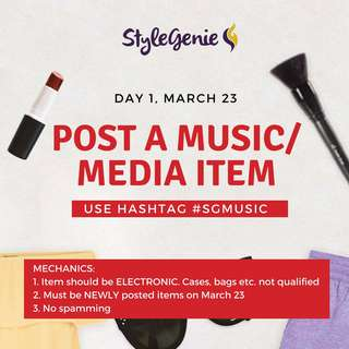 DAY 1: POST MUSIC MEDIA ITEM