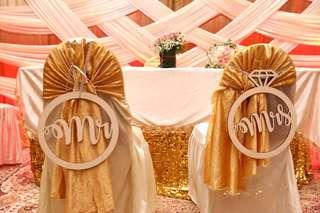 Wedding Signages (Mr&Mrs)