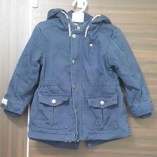 男童防風外套