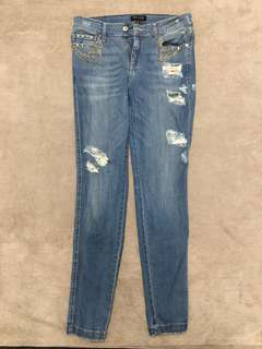 MNG Detailed Jeans