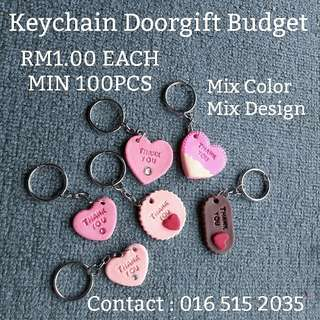 Doorgift Keychain Custom