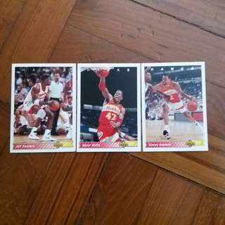 NBA Upper DECK 1992-1993 Atlanta Hawks 籃球卡