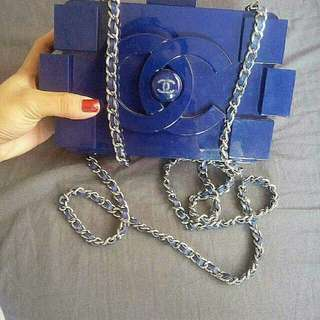 Lego clutch chanel bag