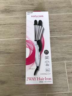 Tescom 2way Hair Iron (curling and straightening)