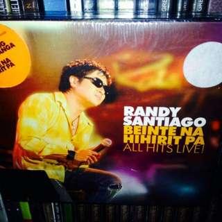 Randy Santiago-Beinte Na Hihirit Pa All Hits Live CD+VCD