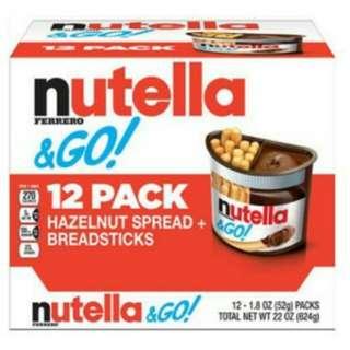 Nutella N Go 12 pack