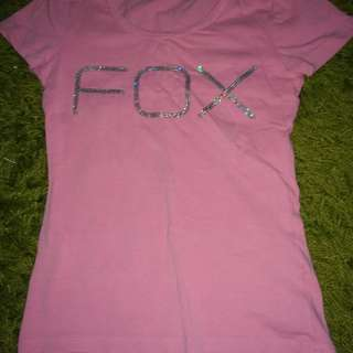 Free mail - FOX Kids Tshirt with sequins (girls)