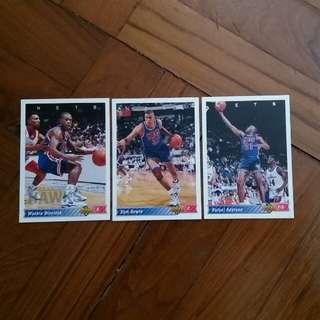 NBA Upper DECK 1992-1993 Nets 籃球卡