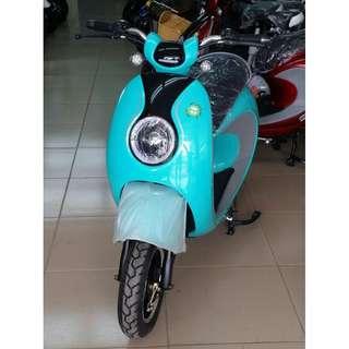彩色飾界╭☆ AGL (湖水藍)-電動輔助自行車/電動腳踏車/電動機車/電動休閒車/電動車