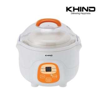 [FREE POSTAGE SM] Khind baby porridge cooker, slow cooker