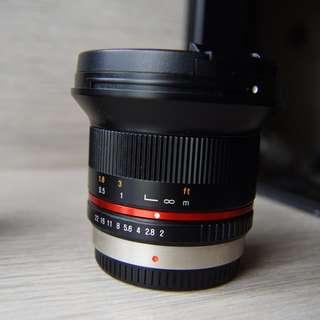 Samyang 12mm f2