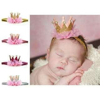 crown hairband for baby girl