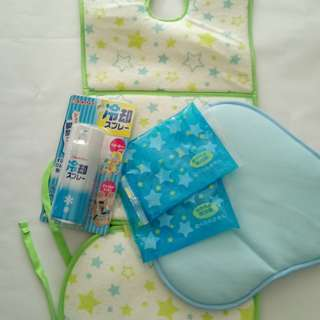 Stroller Cooling Sheets and Cooling Spray