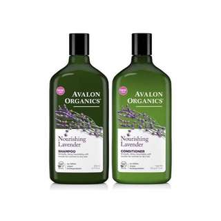 Avalon Organics Shampoo & Conditioner 450 each