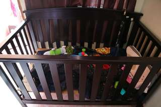 XL Wooden Crib FOR SALE!
