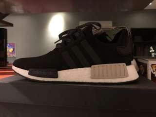Adidas NMD R1 brand new rare black white