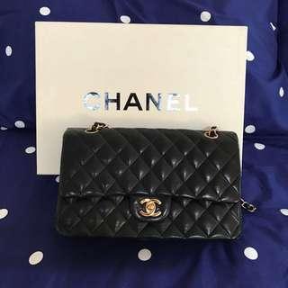 Chanel classic lambskin medium flap bag
