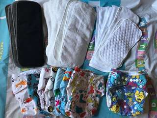 Pre-loved Cloth Diapers