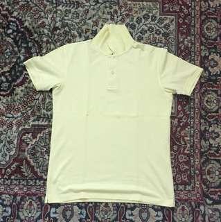 Small size polo shirt (yellow)