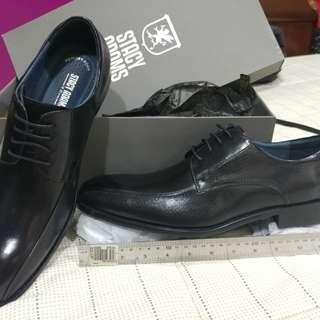 Stacy Adams black leather shoes (Julius)