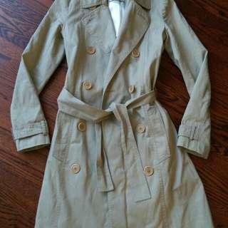 Talula Babaton trench coat jacket