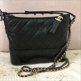Chanel Gabrielle bag medium black classic