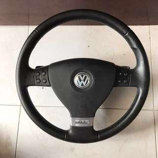 Volkswagen Vw Golf steering wheel