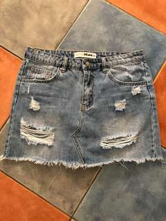 Supre denim skirt size 10