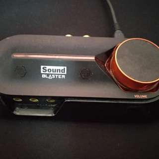 Creative Omni Sound Blaster 5.1 Surround - External Sound Card