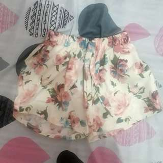 Floral Candy Shorts