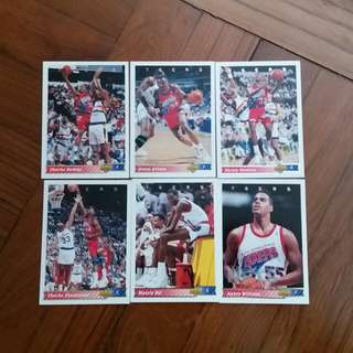 NBA Upper DECK 1992-1993 76ers 籃球卡