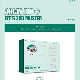 BTS 3RD MUSTER DVD BLU-LAY