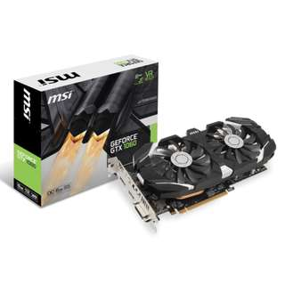 🚚 MSI GTX 1060 6GB AFTERBURNER OCV2 NVIDIA GTX1060