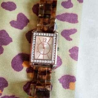 jam tangan coklat