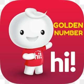 Golden Number - Triple Number in Between. (PREPAID CARD)