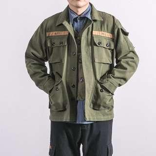 日系經典工裝四袋外套