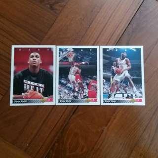 NBA Upper DECK 1992-1993 Miami Heat 籃球卡