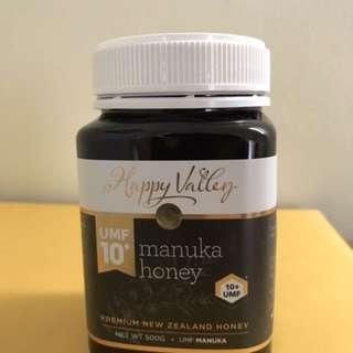 Happy Valley Manuka Honey UMF 10+ 500g - NZD