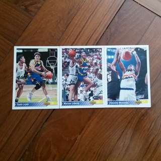 NBA Upper DECK 1992-1993 Deaver Nuggets 籃球卡