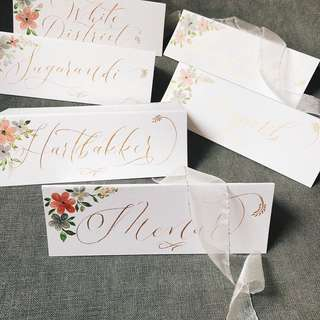 Handmade Placecards & Greetingcards