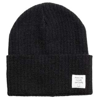 H&M針織帽-黑