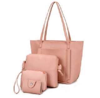 [Limited Stock] Trendy Korean Style Bags for Ladies (Set of 4 Bags)