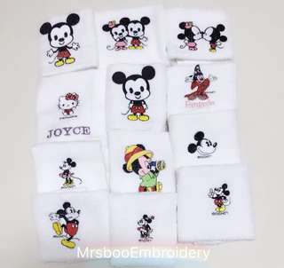 Cotton customisation face towel