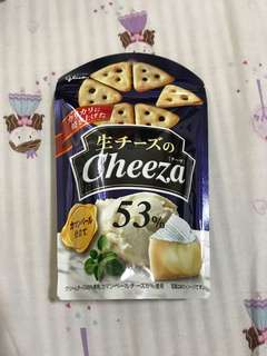 Cheeza cheese crackers from Japan