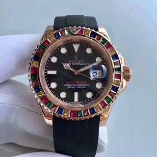 Rolex Gold Tutti Frutti Yatch Master 18K