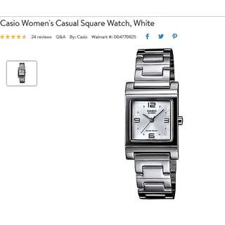 Casio Authentic Stainless Steel